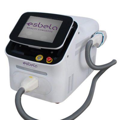 Máquina depilación