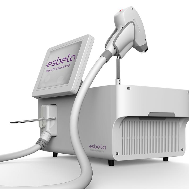 Máquina láser para depilación