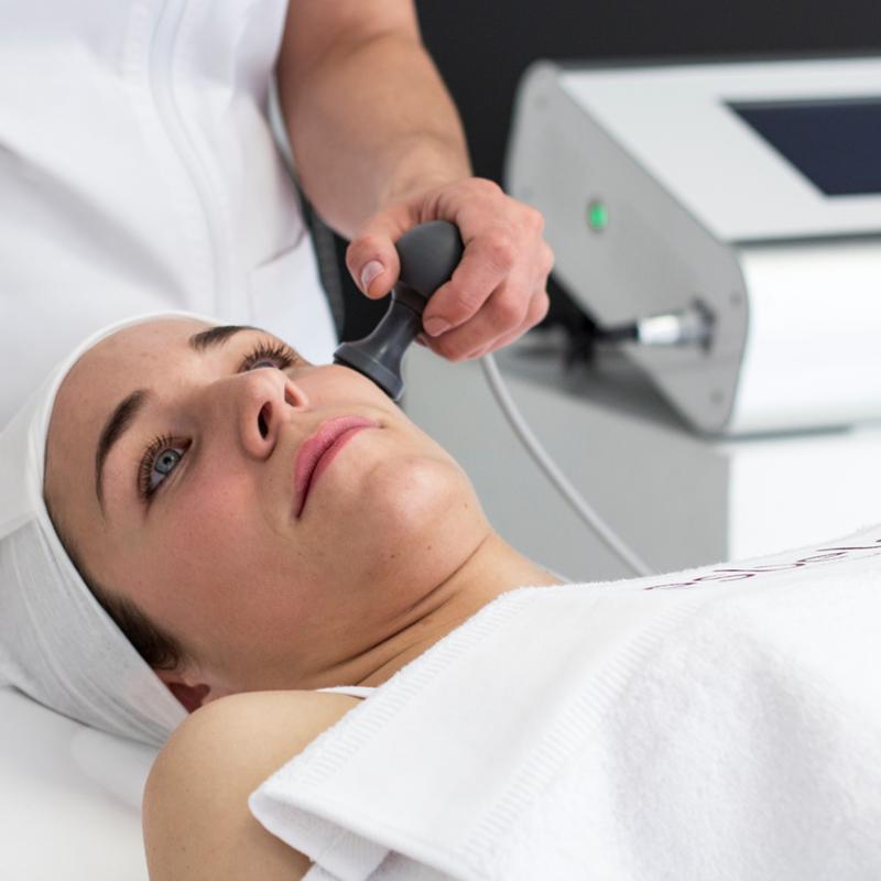 Máquina radiofrecuencia corporal y facial